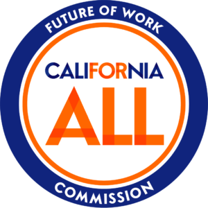 Future of Work Commission Logo, California for All